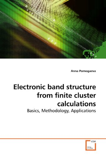 9783639199918: Electronic band structure from finite cluster calculations: Basics, Methodology, Applications