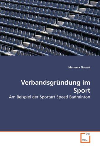 Verbandsgründung im Sport: Manuela Nowak