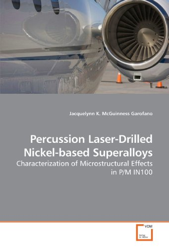 9783639206418: Percussion Laser-Drilled Nickel-based Superalloys: Characterization of Microstructural Effects in P/M IN100