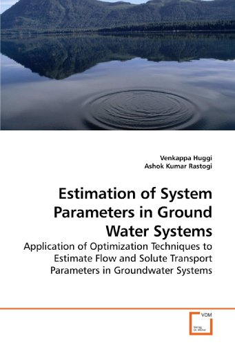 9783639207361: Estimation of System Parameters in Ground Water Systems: Application of Optimization Techniques to Estimate Flow and Solute Transport Parameters in Groundwater Systems