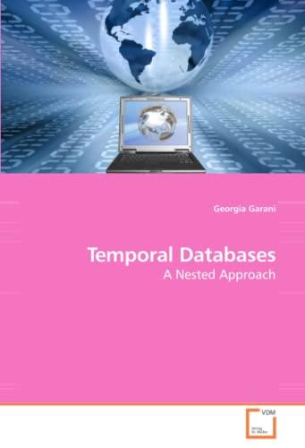 Temporal Databases: Georgia Garani