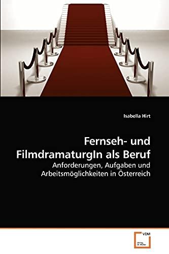 Fernseh- und FilmdramaturgIn als Beruf: Isabella Hirt