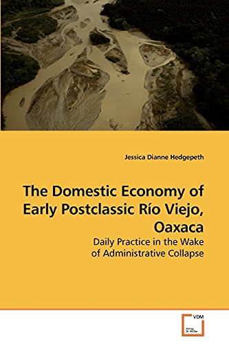 9783639231694: The Domestic Economy of Early Postclassic Río Viejo, Oaxaca: Daily Practice in the Wake of Administrative Collapse
