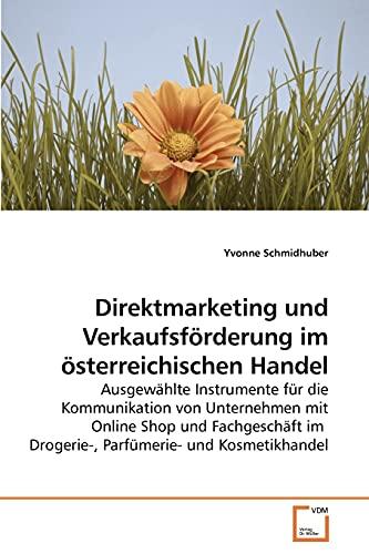 9783639235869: Direktmarketing und Verkaufsförderung im österreichischen Handel
