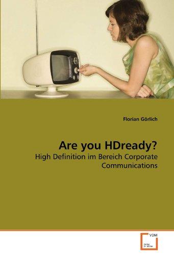 Are you HDready? - Florian Görlich