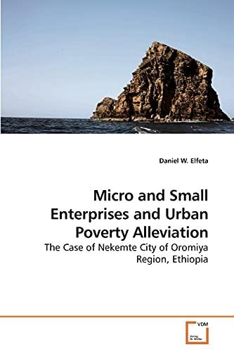 9783639239690: Micro and Small Enterprises and Urban Poverty Alleviation: The Case of Nekemte City of Oromiya Region, Ethiopia