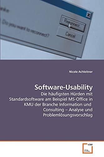 9783639244144: Software-Usability