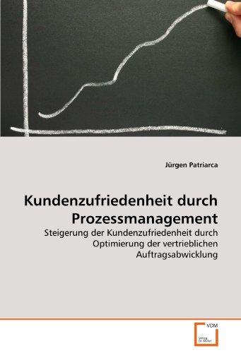 9783639244533: Kundenzufriedenheit durch Prozessmanagement: Steigerung der Kundenzufriedenheit durch Optimierung der vertrieblichen Auftragsabwicklung (German Edition)