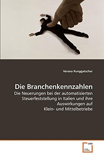 Die Branchenkennzahlen: Verena Runggatscher