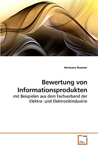 Bewertung Von Informationsprodukten: Hermann Huemer