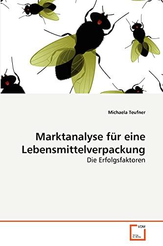 9783639254662: Marktanalyse f�r eine Lebensmittelverpackung