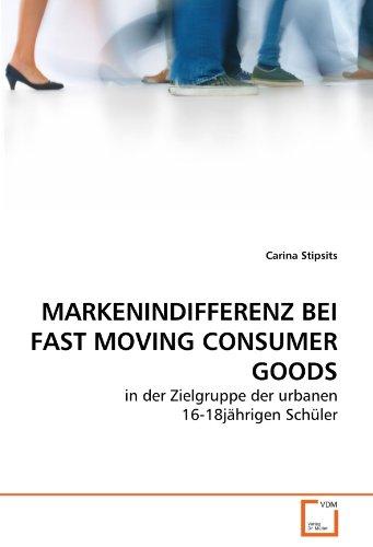 9783639255294: MARKENINDIFFERENZ BEI FAST MOVING CONSUMER GOODS: in der Zielgruppe der urbanen 16-18jährigen Schüler