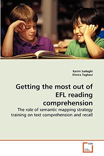 Getting the Most Out of Efl Reading Comprehension: Karim Sadeghi