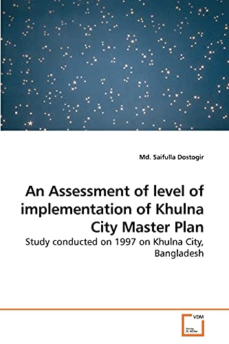 An Assessment of level of implementation of: Md. Saifulla Dostogir