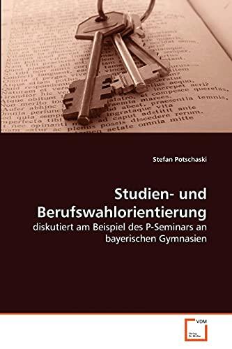 Studien- Und Berufswahlorientierung: Stefan Potschaski