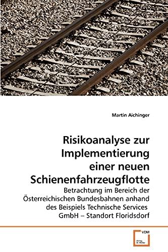 9783639260137: Risikoanalyse zur Implementierung einer neuen Schienenfahrzeugflotte