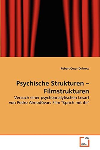 9783639264562: Psychische Strukturen - Filmstrukturen