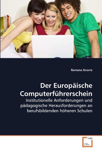 Der Europäische Computerführerschein: Romana Knorre