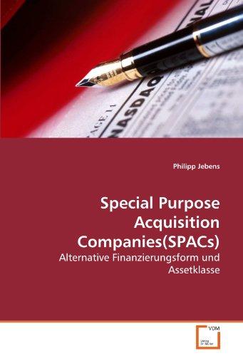 Special Purpose Acquisition Companies(SPACs) - Philipp Jebens