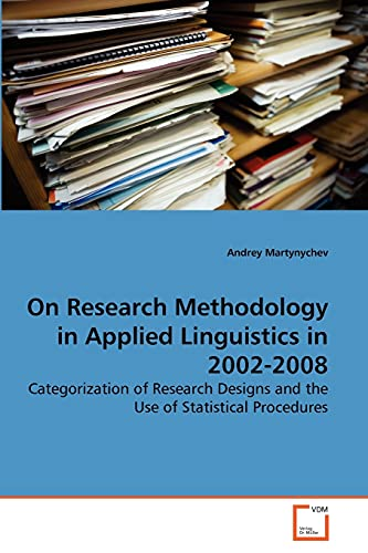 On Research Methodology in Applied Linguistics in: Andrey Martynychev (author)