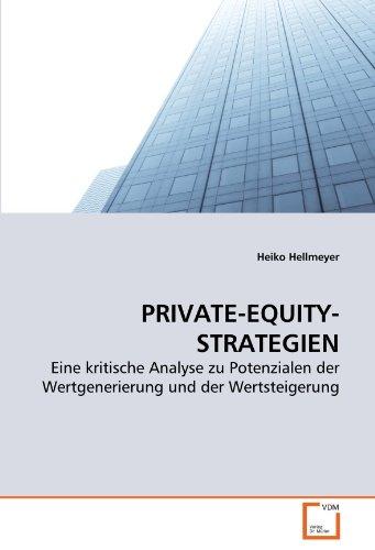 PRIVATE-EQUITY-STRATEGIEN: Heiko Hellmeyer