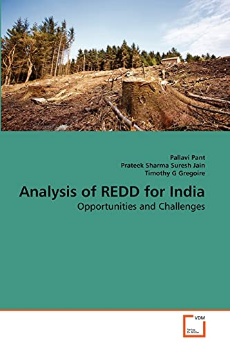 9783639287448: Analysis of REDD for India: Opportunities and Challenges