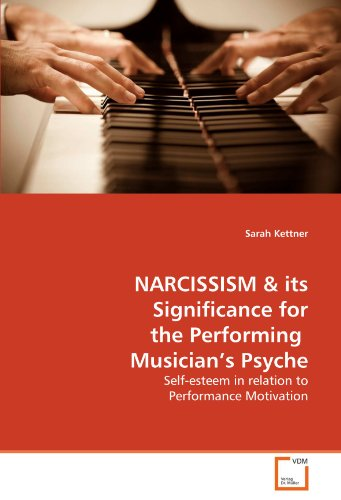 9783639297041: NARCISSISM & its Significance for the Performing Musician's Psyche: Self-esteem in relation to Performance Motivation