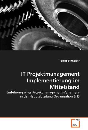 IT Projektmanagement Implementierung im Mittelstand: Tobias Schneider