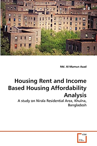 Housing Rent and Income Based Housing Affordability Analysis: Md. Al-Mamun Azad