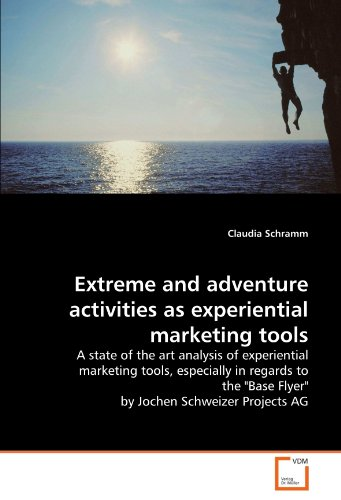 Extreme and Adventure Activities as Experiential Marketing Tools (Paperback): Claudia Schramm