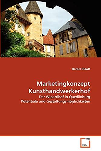 9783639328219: Marketingkonzept Kunsthandwerkerhof