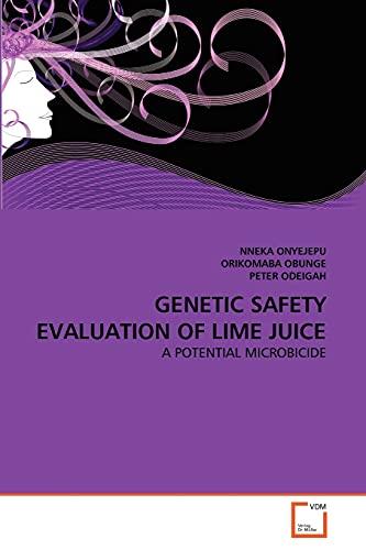 Genetic Safety Evaluation of Lime Juice: NNEKA ONYEJEPU