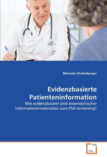 Evidenzbasierte Patienteninformation: Michaela Strobelberger
