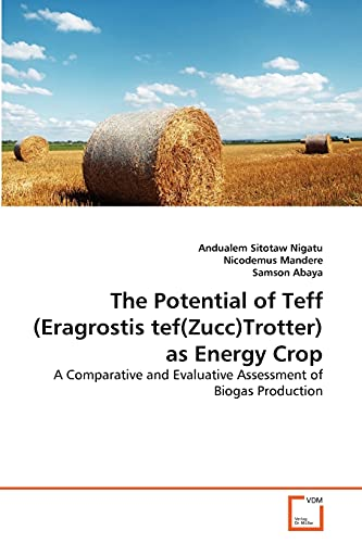 9783639339093: The Potential of Teff (Eragrostis tef(Zucc)Trotter) as Energy Crop: A Comparative and Evaluative Assessment of Biogas Production