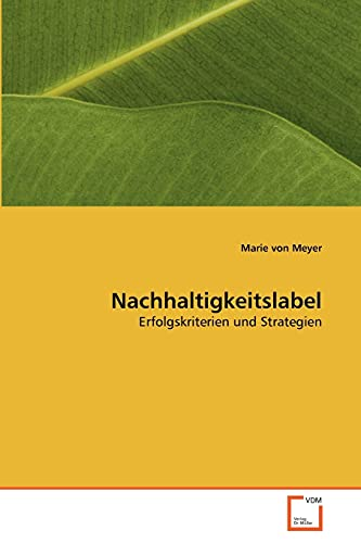 9783639346404: Nachhaltigkeitslabel