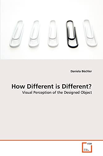 How Different Is Different?: Daniela Büchler
