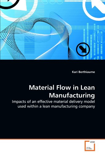 9783639352610: Material Flow in Lean Manufacturing: Impacts of an effective material delivery model used within a lean manufacturing company