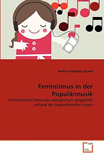9783639353952: Feminismus in der Popul�rmusik