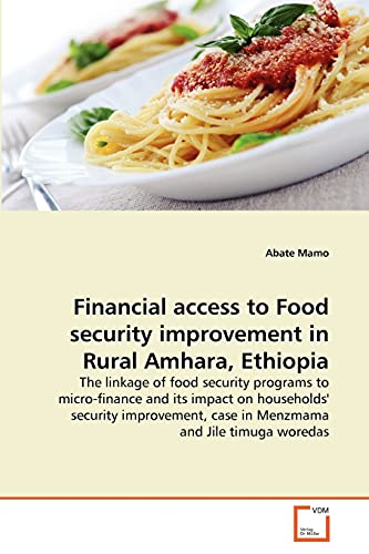 Financial access to Food security improvement in: Mamo, Abate
