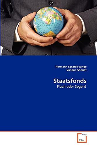 9783639366556: Staatsfonds