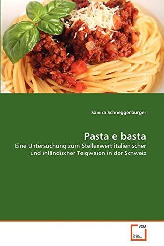 Pasta e basta: Samira Schneggenburger