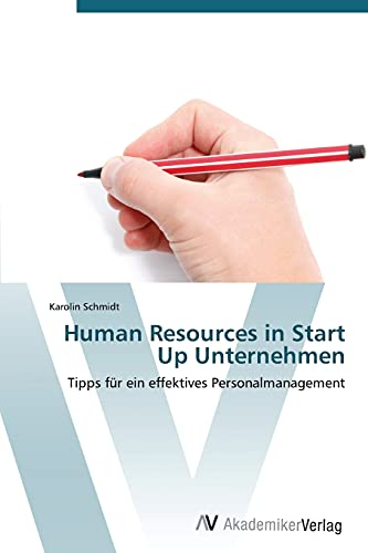 9783639382112: Human Resources in Start Up Unternehmen