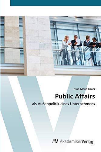 Public Affairs: Nina-Maria Bauer