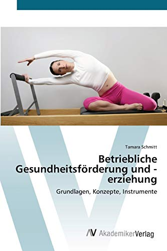 Betriebliche Gesundheitsforderung Und -Erziehung (Paperback): Schmitt Tamara