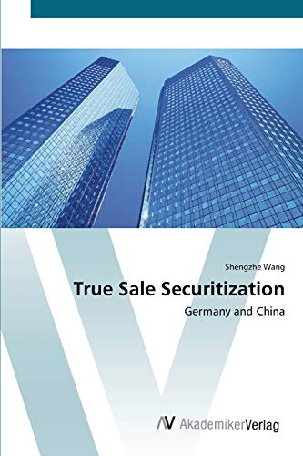 9783639396430: True Sale Securitization: Germany and China