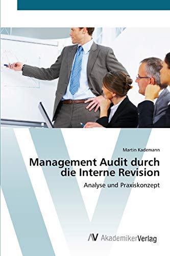 9783639396515: Management Audit Durch Die Interne Revision