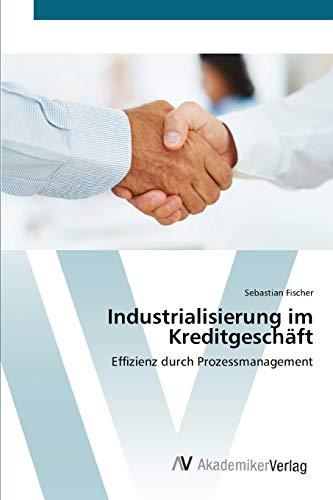 9783639396713: Industrialisierung im Kreditgesch�ft: Effizienz durch Prozessmanagement