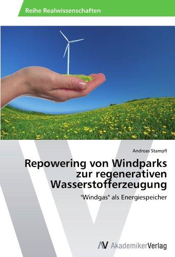 9783639398731: Repowering von Windparks zur regenerativen Wasserstofferzeugung: