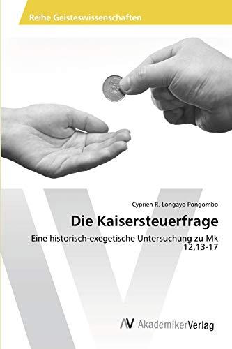 9783639424386: Die Kaisersteuerfrage