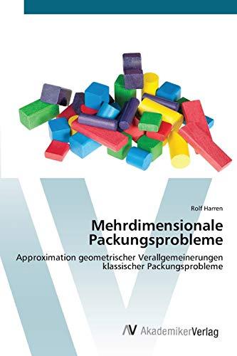 9783639425987 - Harren, Rolf: Mehrdimensionale Packungsprobleme - Liv